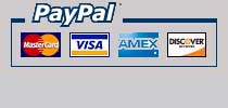 We accept these forms of online payment.