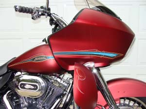 Road Glide Lowers - Custom Paint