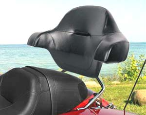 Premium Passenger Sissy Bar Backrest
