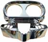 Tach Speedo Bezel, Chrome for Project Rushmore