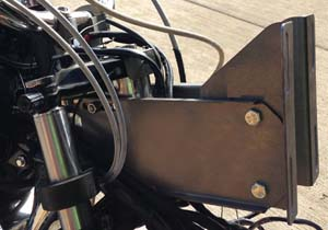 Mounted on Road Glide