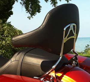 Sissy Bar, Backrest Pad & Docking Hardware